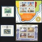 14158] South Afrika 1988-1989, complete set of 4 S/S MNH