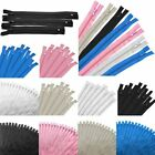 50pc Nylon Coil Closed End Zippers 9