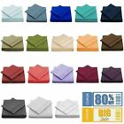 Egyptian Comfort 1800 Thread Count 4 Piece Bed Sheet Set Deep Pocket All Sizes image