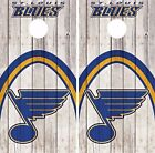 St. Louis Blues Cornhole Skin Wrap NHL Game Wood Decal Vinyl Sticker Logo DR507 $39.99 USD on eBay