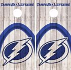 Tampa Bay Lightning Cornhole Skin Wrap NHL Game Decal Vinyl Sticker Logo DR509 $39.99 USD on eBay