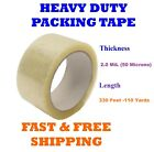 2.0 MIL Clear Packing Tape Carton Box Sealing Moving Shipping 330' ft 110 Yards