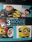 Dispicable Me 3 Movie Collection 4k UHD+Blu-ray No Digital Code