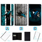 San Jose Sharks Passport Holder Leather Cover Cards ID Travel Wallet $4.99 USD on eBay