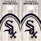 Chicago White Sox Cornhole Skin Wrap MLB Baseball Wood Decal Vinyl Sticker DR528 on Ebay