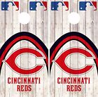 Cincinnati Reds Cornhole Skin Wrap MLB Game Decal Vinyl Sticker Logo DR531 on Ebay