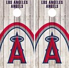 Los Angeles Angels Cornhole Skin Wrap Baseball Wood Decal Vinyl Sticker DR542 on Ebay