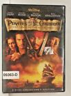 DVD Movie PIRATES OF THE CARRIBBEAN Johnny Depp in Original Jacket