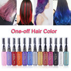Unisex Diy Hair Color Wax Dye Comb Cream Non-Toxic Temporary Modeling 13Colorsk!