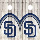 San Diego Padres Cornhole Skin Wrap MLB Baseball Wood Decal Vinyl Sticker DR558 on Ebay