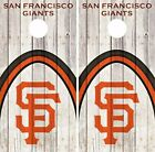San Francisco Giants Cornhole Skin Wrap Baseball Wood Decal Vinyl Sticker DR560 on Ebay