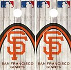 San Francisco Giants Cornhole Skin Wrap MLB Game Decal Vinyl Sticker Logo DR561 on Ebay