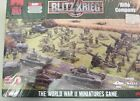 FLAMES OF WAR BLITZ KREIG SET BRABO6 BRITISH RIFLE COMPANY WITH ARTILLARY NOS