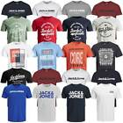 Jack & Jones Herren T-Shirt Rundhals kurzarm Sport Clubwear Party UVP 12,99€