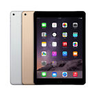 Apple iPad Air 2 16GB 32GB 64GB 128GB WiFi OR Cellular Gray / Silver / Gold <br/> *US SELLER* FREE SHIPPING - 90 DAY MONEY BACK GUARANTEE