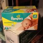Pampers Swaddlers Diapers - Size 1 (96count)