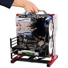 ATX M-ATX ITX Vertical Test Bench Frame Motherboard Case Support Graphics Card