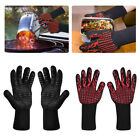Kyпить 932°F Silicone Extreme Heat Resistant Cooking Oven Mitt BBQ Hot Grilling Gloves  на еВаy.соm