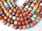 Multi Natural Color Gemstone Beads Drum Shape Size 14-16x16-18mm  #2006