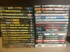 UFC DVDs - great selection, select what you need - 33 different choices