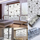 Frosted Static Cling Stained Glass Door Window Film Sticker Privacy Decor