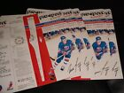 1988 Pro-Sport Autograph HOCKEY Card SET ° LOT OF OF 5 MIKE BOSSY (SAME CARDS °