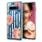 Galaxy S10, S10 Plus, S10e Ciel by Cyrill [Cecile Pink Floral] Slim Pattern Case