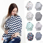 USA Safety Stretchy Newborn Infant Nursing Cover Baby Car Seat Canopy Cart Cover