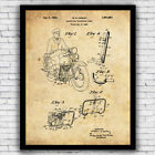 Harley Davidson Motorcycle Protection Guard patent - art print w/ optional frame $15.9 USD on eBay