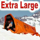 New Large Emergency Orange Survival Bag Camping Hiking Bivi Bivy Sleeping Bag