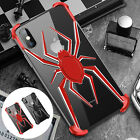 Heavy Aluminum Metal Armor Spider Man Shockproof Case Cover Fr i Phone XS Max XR