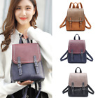 Fashion Leather Backpack Shoulder Bags Purse Women Girl's Students School Bag