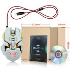 ZERODATE A3050 chip 3200dpi7 key macro definition backlight gaming mouse