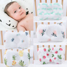 Baby Newborn Infant Cotton Pillow Silk floss Prevent Flat Head Anti Roll 2019