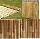 Garden Slate Bamboo Screen Slatted Fence Privacy Wind/sun Protraction Sheild