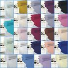 Easy Care Plain Dyed Percale Deep Fitted Valance 16'' Frill Single Double King   image
