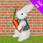 Large Traditional Easter Bunny Rabbit Decorations Celebration MR MRS Boy Set