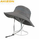 Summer Bucket Hats Fishing Wide Brim Hat UV Protection Cap Men Hiking