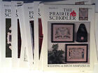 Assortment The Prairie Schooler Counted Cross Stitch Charts Original Choose New