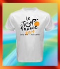 Tour de France 2019 Logo Cycling Bike NEW Men White T-Shirt S M L XL 2XL 3XL image
