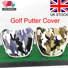 UK Golf Country Flag Putter Head Cover - New Various Countries Mens Blade Mallet