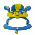 Baby Walker First Steps  Bouncer Musical Toys Car Push Along Ride On Go - UK