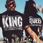 "COUPLES SPECIAL 2X T-SHIRTS  (""only a king/queen"")"