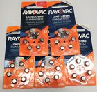 12 Batteries & 30+6  Rayovac Size 13 Hearing Aid Batteries Exp 2020 or later