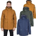 DLX Rowland Mens DLX Waterproof Jacket Casual Raincoat With Hood