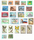 JAMAICA  Album page of Mint/Used Stamps  (M262)