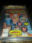 NEW MUTANTS 87 9.6 CGC Signed ROB LIEFELD