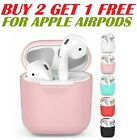Premium AirPods Silicone Case Cover Protective Skin for Apple Airpod USA SELLER