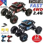 RC Rock Off-Road Vehicle 2.4Ghz 4WD High Speed 1:18 Racing Cars RC Cars RC Truck