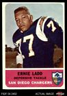1962 Fleer #86 Ernie Ladd Chargers Grambling 6 - EX/MT $78.5 USD on eBay